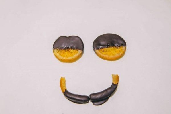 MY Chocolatier портокалови резенчета