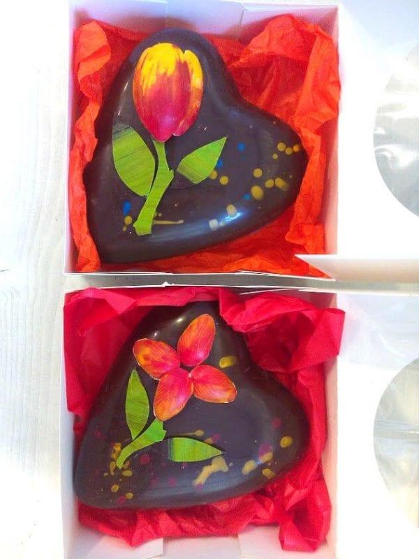 MY Chocolatier шоколадова кутия - сърце