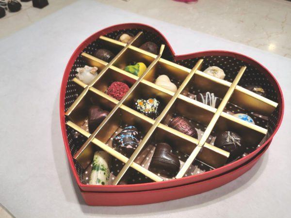 """Бонбониера """"Сърце"""" MY Chocolatier"""