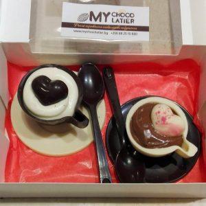 "Шоколадов сет ""Кафе""   MY Chocolatier"