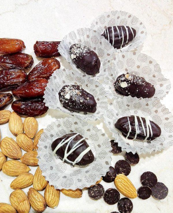 Фурми с бадем и 54% тъмен шоколад | MY Chocolatier