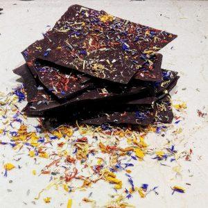 Шоколадов лавандулов чипс   MY Chocolatier
