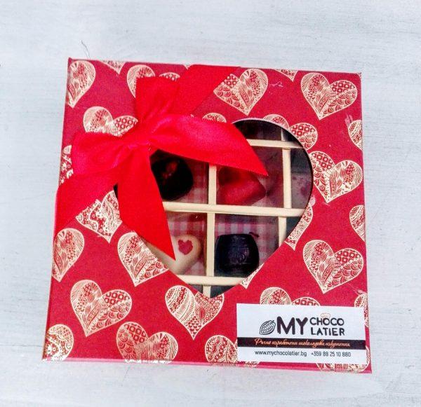 Луксозна шоколадова бонбониера | MY Chocolatier