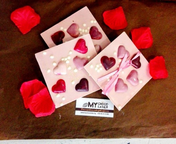 Шоколадови сърца и перли | MY Chocolatier